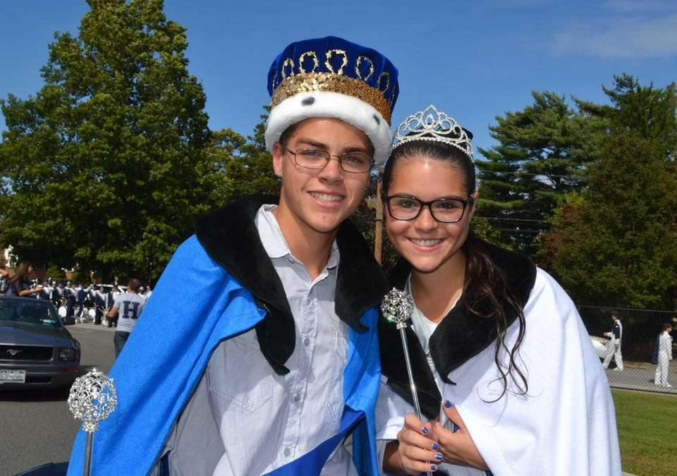 Nicholas Belluccia, 17, and Emily Tedesco, 17, were