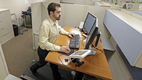 Josh Baldonado, an administrative assistant at Brown &