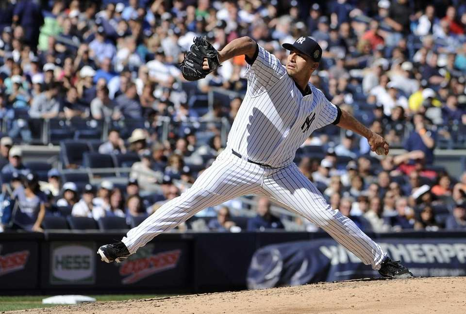 Yankees starter Andy Pettitte gave up no hits