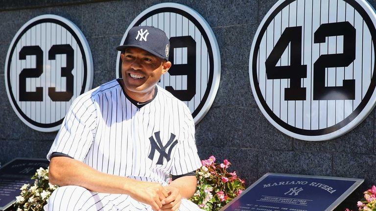 NEW YORK, NY - SEPTEMBER 22: Mariano Rivera