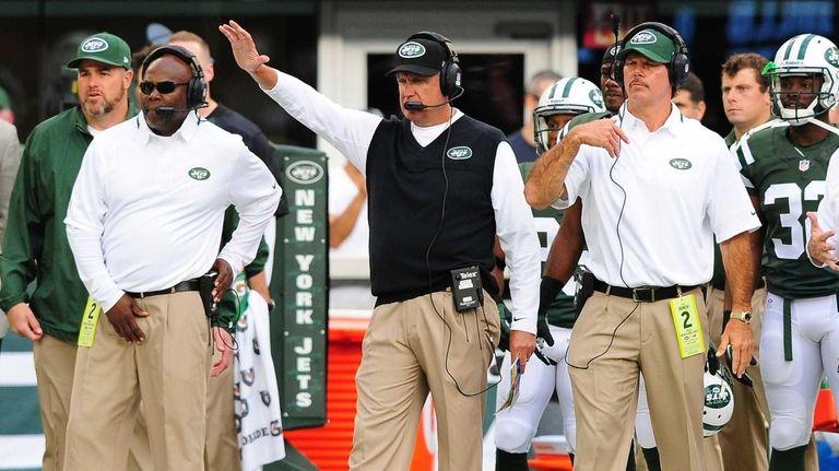 Jets head coach Rex Ryan is seen during