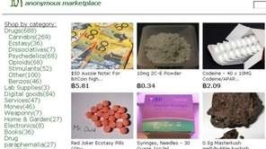 "Still image frame of the website ""Silk Road"""