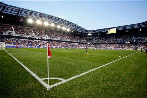 Red Bull Arena is seen for a game