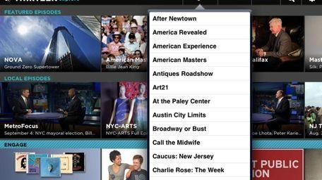 The Thirteen Explore app, available for iOS, allows