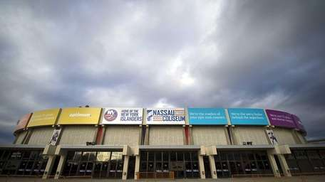 Nassau Coliseum is seen on Sept. 21, 2013.