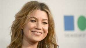 Ellen Pompeo arrives at the 2013 MOCA Gala