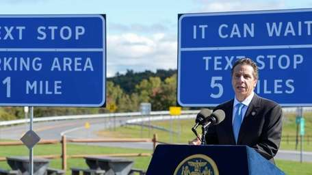 Governor Andrew M. Cuomo announces new signs on