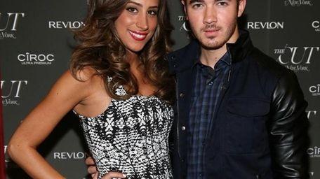 Danielle and Kevin Jonas.