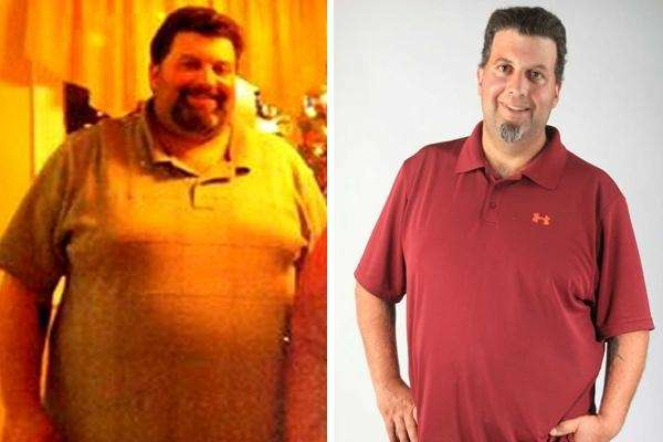 Joseph Ardito of Farmingdale lost 107 lbs. in