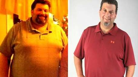 Joseph Ardito of Farmingdale lost 107 lbs. in