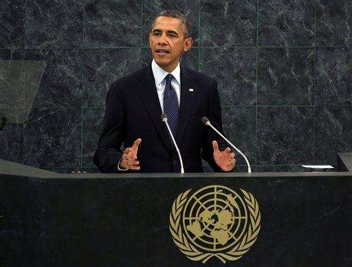 President Barack Obama addresses the 68th session of
