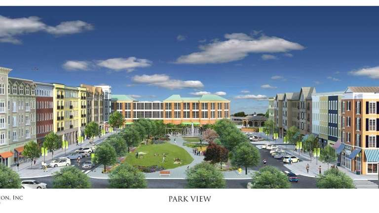 This is a rendering of new apartment building