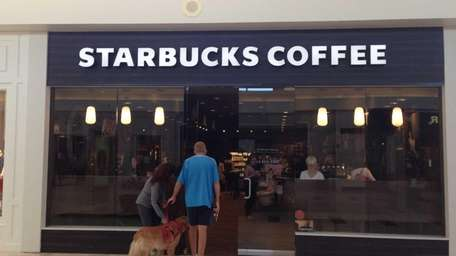 A full-service Starbucks replaces the kiosk at Walt