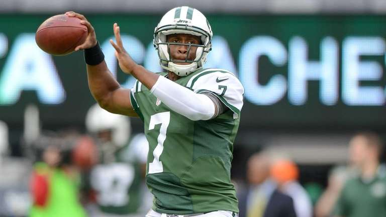 Jets rookie quarterback Geno Smith against the Bills