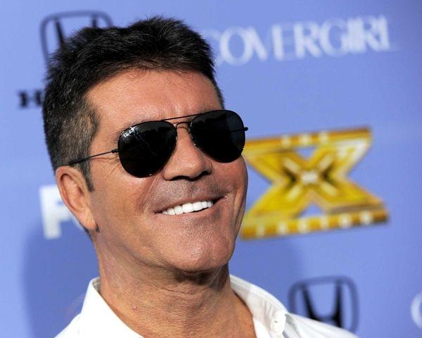 Producer Simon Cowell arrives at Fox's
