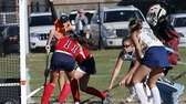 Miller Place's Megan Gonzalez (11) puts in the