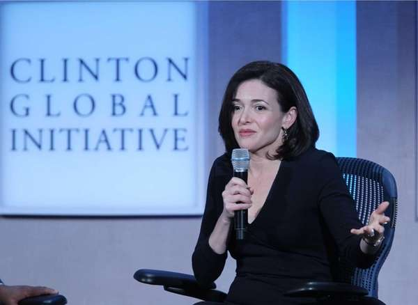 Sheryl Sandberg, chief operating officer of Facebook Inc.,
