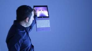 Panos Panay, Microsoft's VP of Surface, introduces a