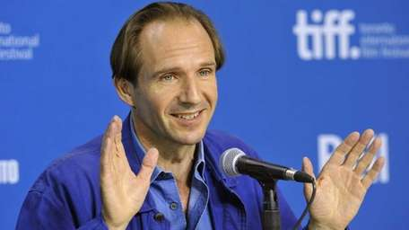 English actor, director and cast member Ralph Fiennes