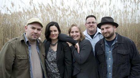 From left: Jon Preddice, Leanne Strom, Krista Preddice,