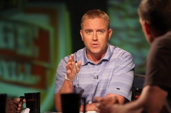 ESPN college football analyst Kirk Herbstreit partakes in
