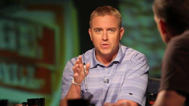 ESPN college football analyst Kirk Herbstreit partakes in