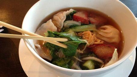 Tang Asian Fusion serves a big-bowl soup with