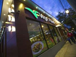 Vege Favor is a vegetarian Chinese restaurant in