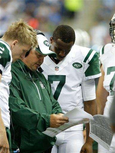 Geno Smith and Matt Simms talk with offensive