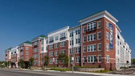 The West 130 apartment building in West Hempstead
