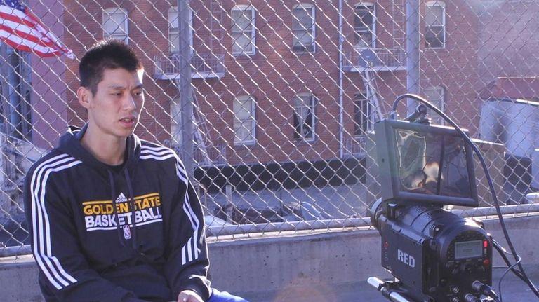 Jeremy Lin in a scene from
