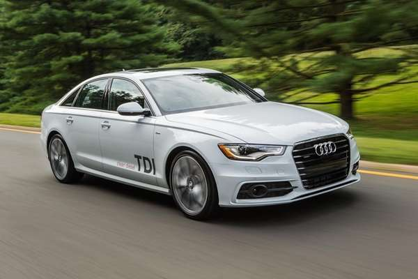 The 2014 Audi A6 TDI is slick, quiet