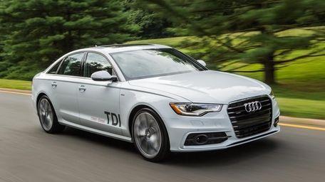 The 2014 Audi A6 TDI is slick, quiet