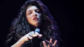 Lorde performs for fans on day 3 of