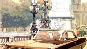 The stunning 1963 Pontiac Grand Prix, pictured in