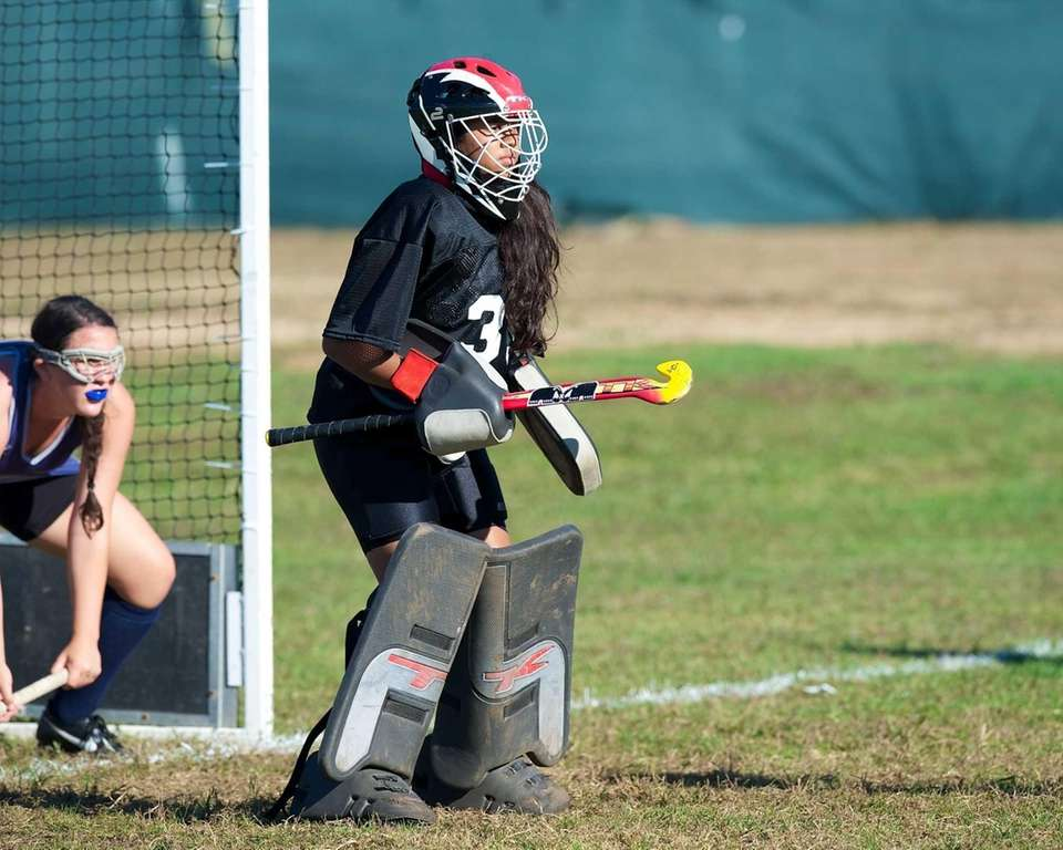 New Hyde Park junior goalie Leah Abigail Bodh