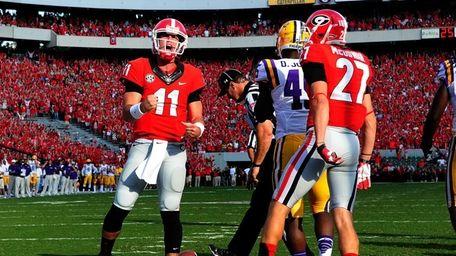 ATHENS, GA - SEPTEMBER 28: Aaron Murray #11