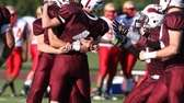 Bay Shore's Matt Smith gets surrounded by teammates