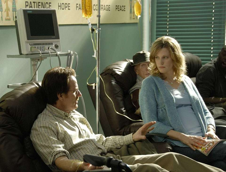 Walter White (Bryan Cranston) his wife Skyler White