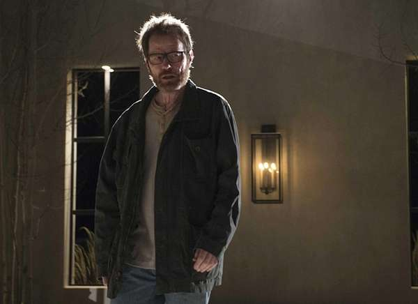 Walter White (Bryan Cranston) in a scene from