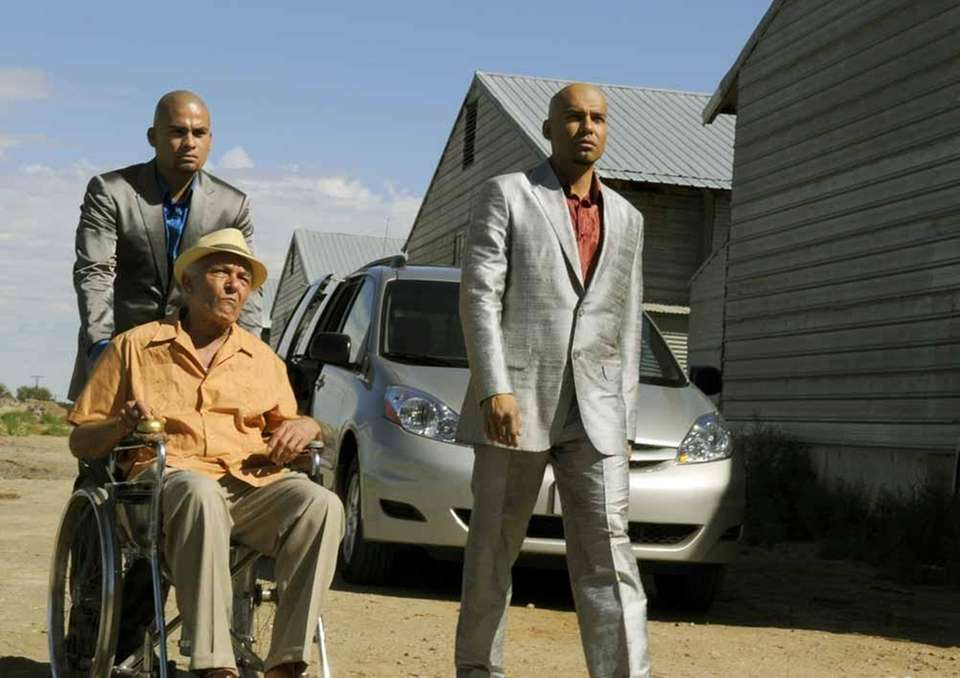 Tio Salamanca (Mark Margolis), from left, Daniel Moncada