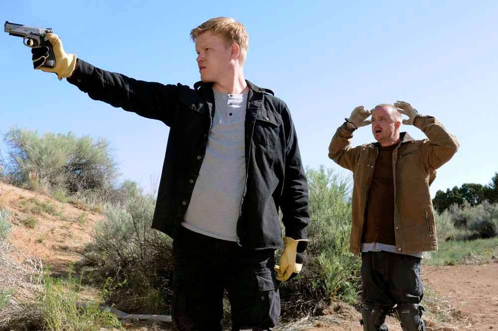 Todd Alquist (Jesse Plemons), left, and Jesse Pinkman