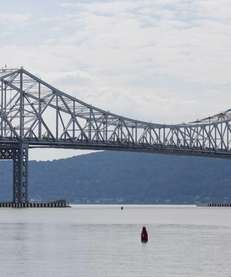 This file photo shows the Tappan Zee Bridge