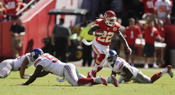 Kansas City Chiefs kick returner Dexter McCluster (no.