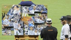 HOUSTON ASTROS The Astros gave Rivera a customized