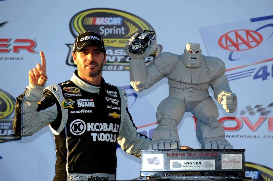 DOVER, DE - SEPTEMBER 29: Jimmie Johnson, driver