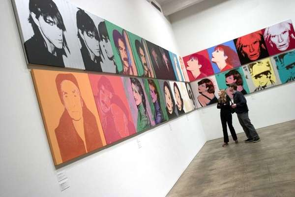 The Andy Warhol Museum in Pittsburgh, the artist's