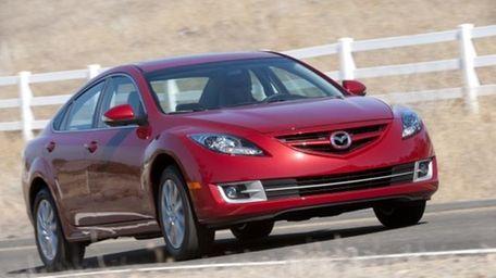 The 2013 Mazda 6 sedan was part of
