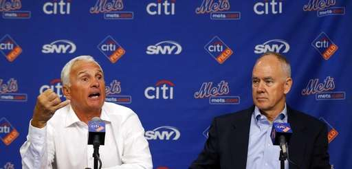 Mets manager Terry Collins speaks during a press