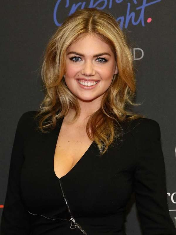 Model Kate Upton attends the Style Awards during